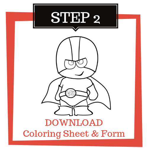 DOWNLOAD Coloring Sheet & Form