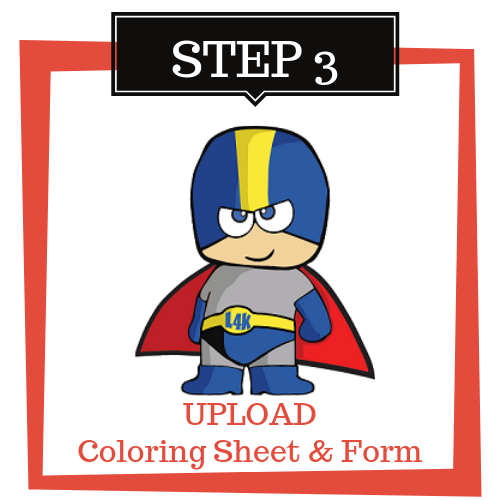 UPLOAD Coloring Sheet & Form