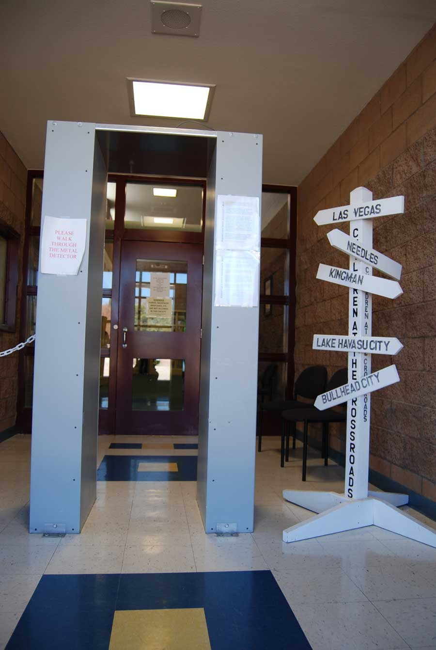 VISITORS (Entrance)